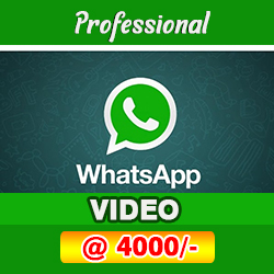 special whatsapp video